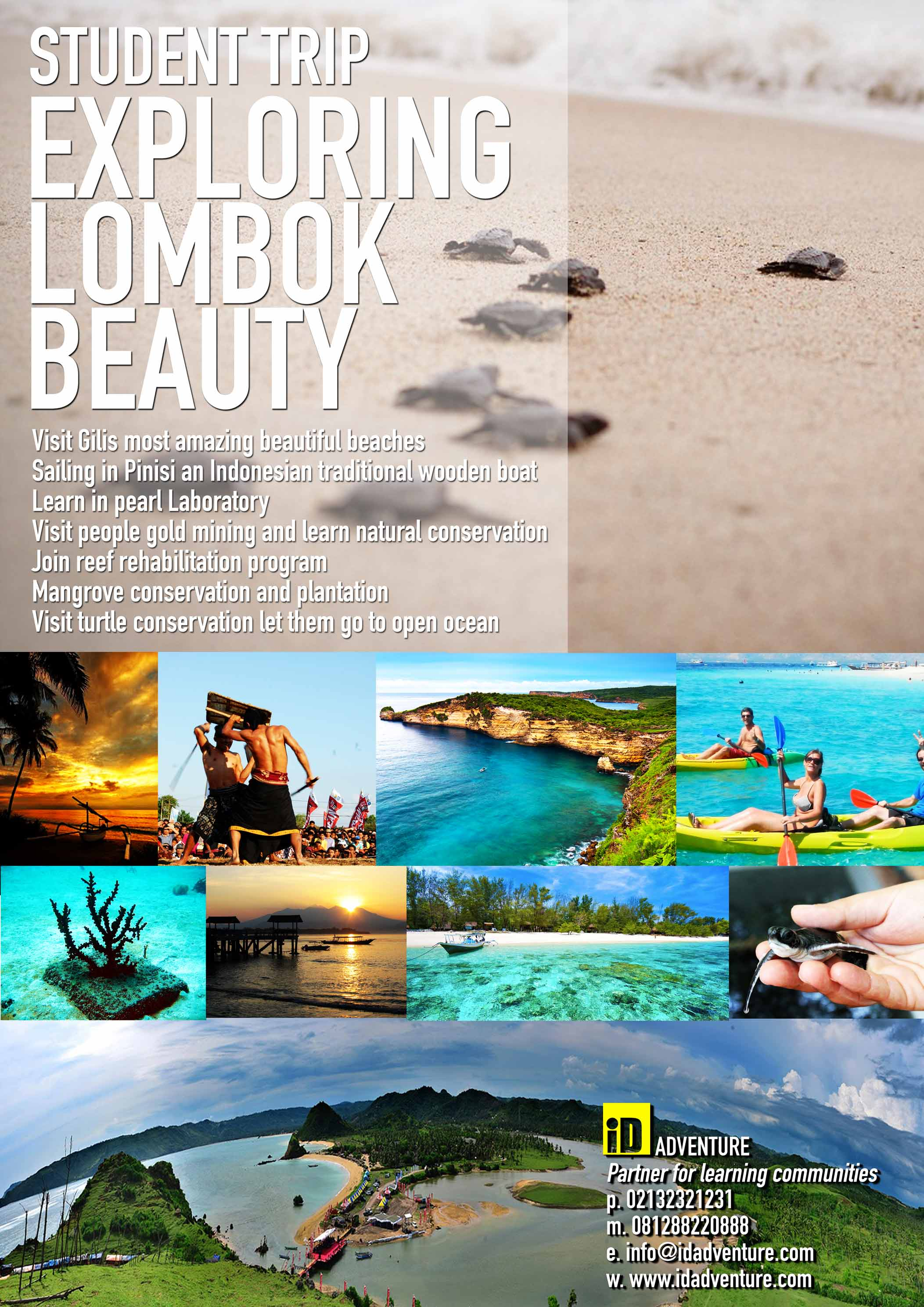 Poster-10-Student-Trip_Lombok