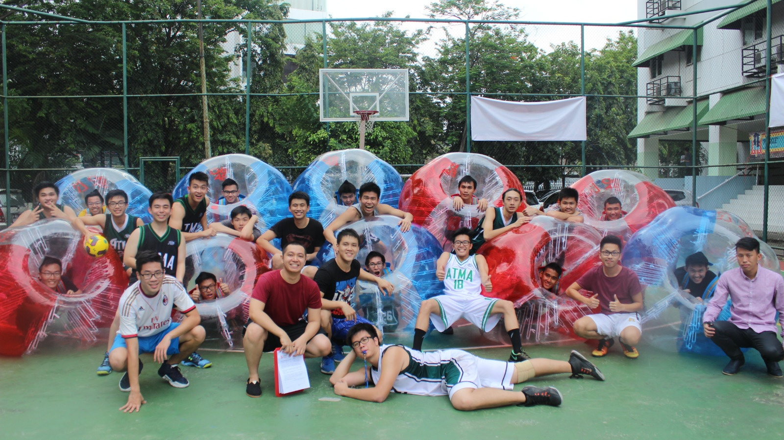 Boom Ball Bubble Soccer Ready in Indonesia!